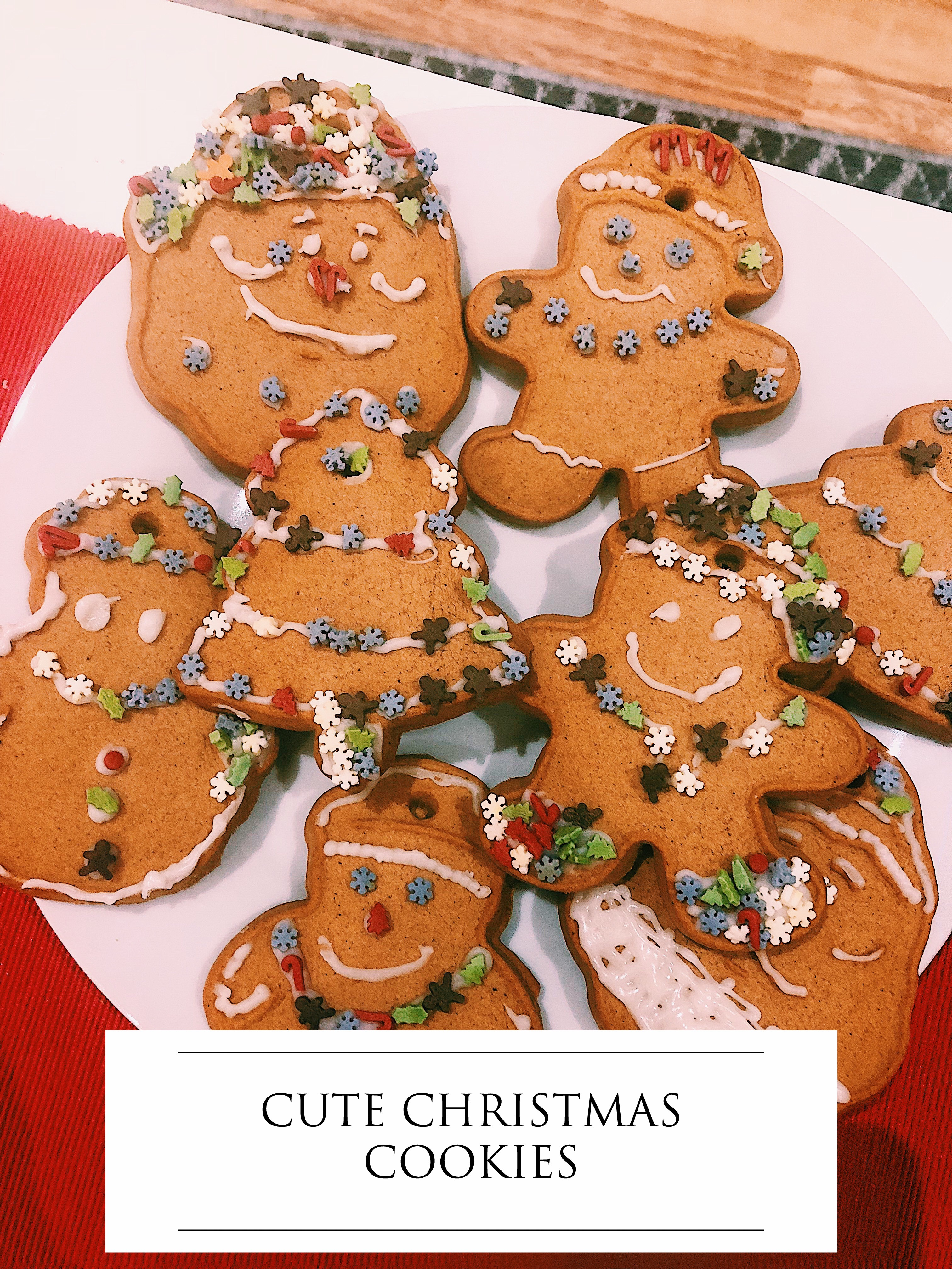 Cute Christmas Cookies The Stoker Story